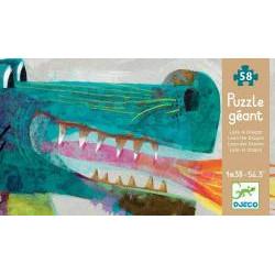 Puzzle Géant : 58 pièces - Léon le Dragon