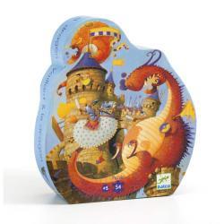 Puzzle : Vaillant et le Dragon x54