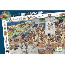 PUZZLE : LE CHATEAU FORT x100