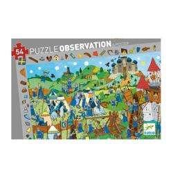 Puzzle : 54 pièces - Chevaliers
