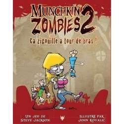 Munchkin Zombies 2 : Ca Aigouille à Tour de Bras