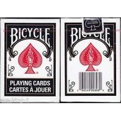54 Cartes Bicycle Dos Noir