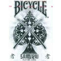 54 Cartes Bicycle Samouraï Blanc