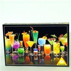 Puzzle : 1000 pièces - Cocktails