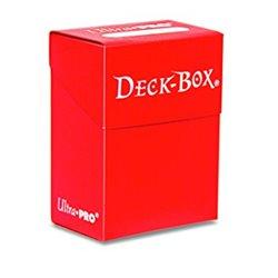 Boite : Deck Protector Rouge Nacré - 75 cartes