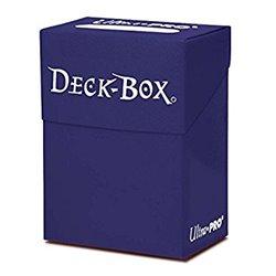 Boite : Deck Protector Bleu Nacré - 75 cartes