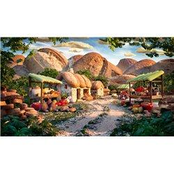 Puzzle : 1000 pièces - Petit village de montagne