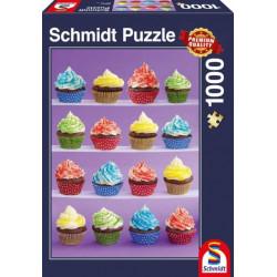 Puzzle : 1000 pièces - Cupcakes