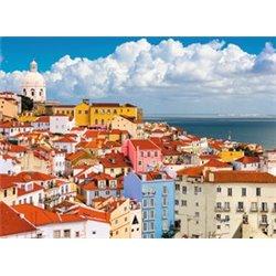 Puzzle : 500 pièces - Colline de l'Alfama - Lisbonne