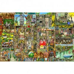 Puzzle : 5000 pièces - Ville Bizarre - Colin Thompson