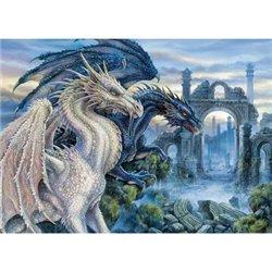 Puzzle : 1000 pièces - Dragons Mystiques