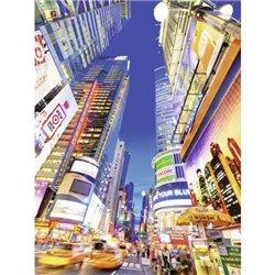 Puzzle : 1500 pièces - Time Square au crépuscule