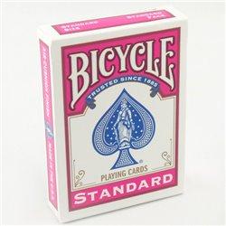 54 Cartes Bicycle Dos Fuschia