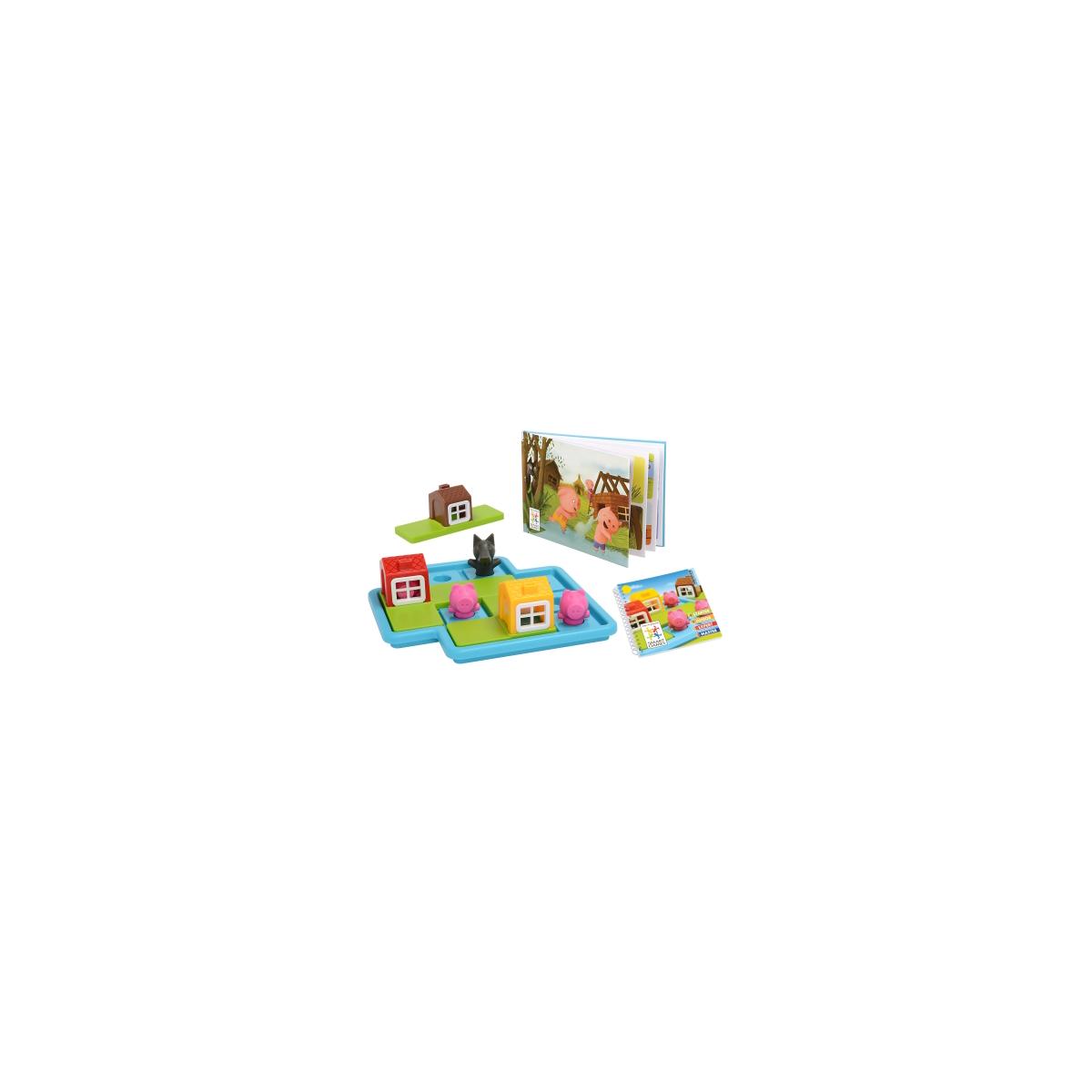 trois petits cochons au passe temps jeu smart games. Black Bedroom Furniture Sets. Home Design Ideas