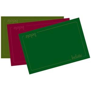 Tapis : 40x60cm - Belote Vert
