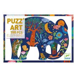 PUzzle : 150 pièces - Eléphant
