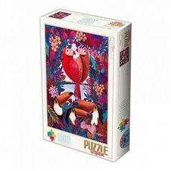Puzzle : 1000 pièces : Oiseaux Tropicaux