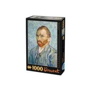 PUZZLE : VAN GOGH - AUTOPORTRAIT X1000