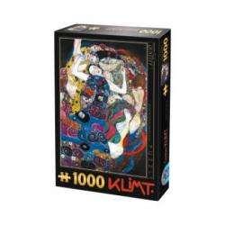 PUZZLE : KLIMT - LA VIERGE X1000