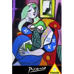 Puzzle : Picasso - Femme avec une Livre x1000
