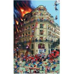 Puzzle : 1000 pièces - Ruyer - Pompiers