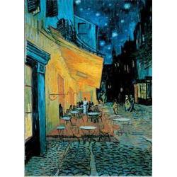 PUZZLE : VAN GOGH - LE CAFE DU SOIR x1000