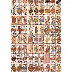 PUZZLE : CARTES A JOUER x1000
