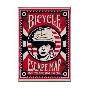54 Cartes Bicycle Escape Map