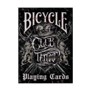54 Cartes Bicycle Club Tatoo