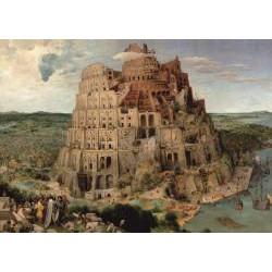 Puzzle : 1000 pièces - Brueghel - La Tour de Babel