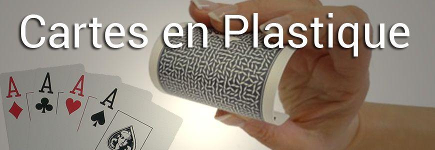 Cartes en plastique