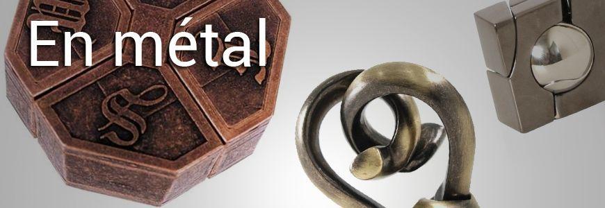 En métal