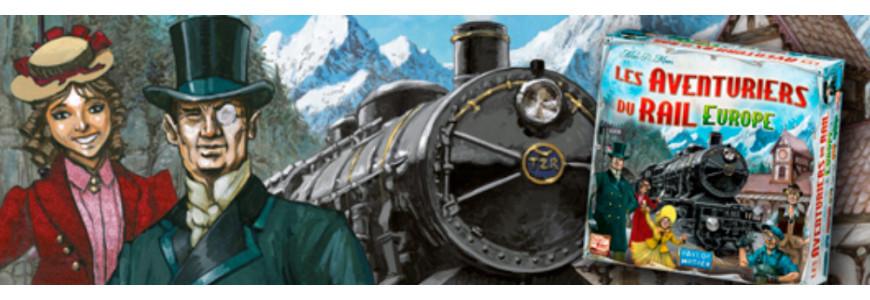 Jeux de base aventuriers du rail