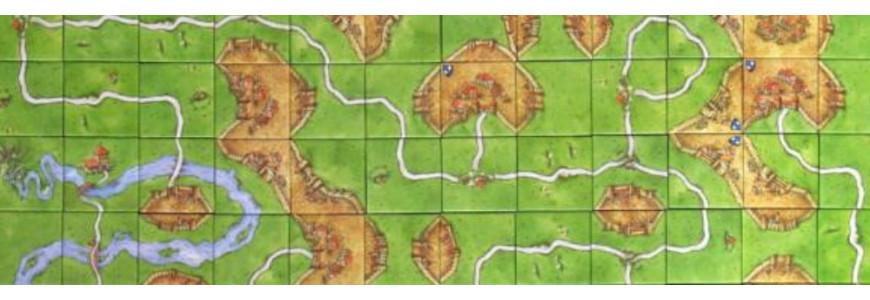 Jeu de base carcassonne