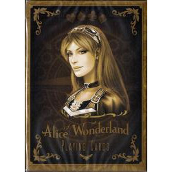 54 Cartes Bicycle Alice of Wonderland : Or