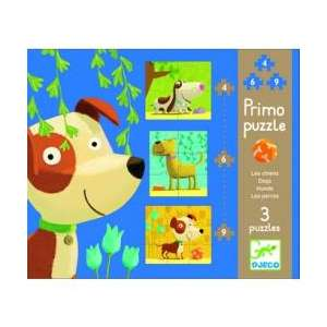 PUZZLE : PRIMO - CHIENS x4 x6 x9
