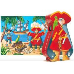 Puzzle : 36 pièces - Le Pirate et son Trésor