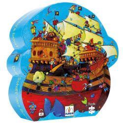 Puzzle : 54 pièces - Le Bateau de Barberousse