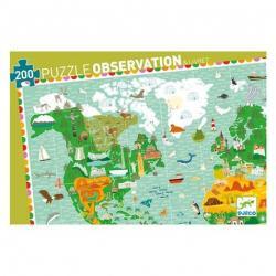 PUZZLE : TOUR DU MONDE+LIVRET x200