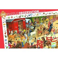 Puzzle : 200 pièces - Equitation