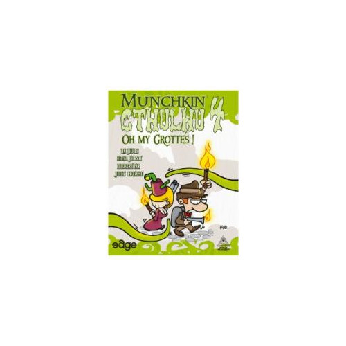 Munchkin Chtulhu 4 : Oh My Grottes !