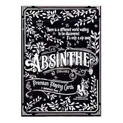 54 Cartes Bicycle Absinthe