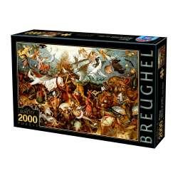 Puzzle : 2000 pièces - Brueghel- La Chute des Anges