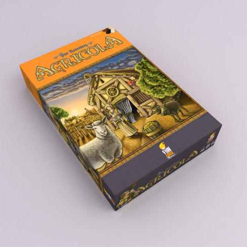 Agricola : Edition 10 ans.