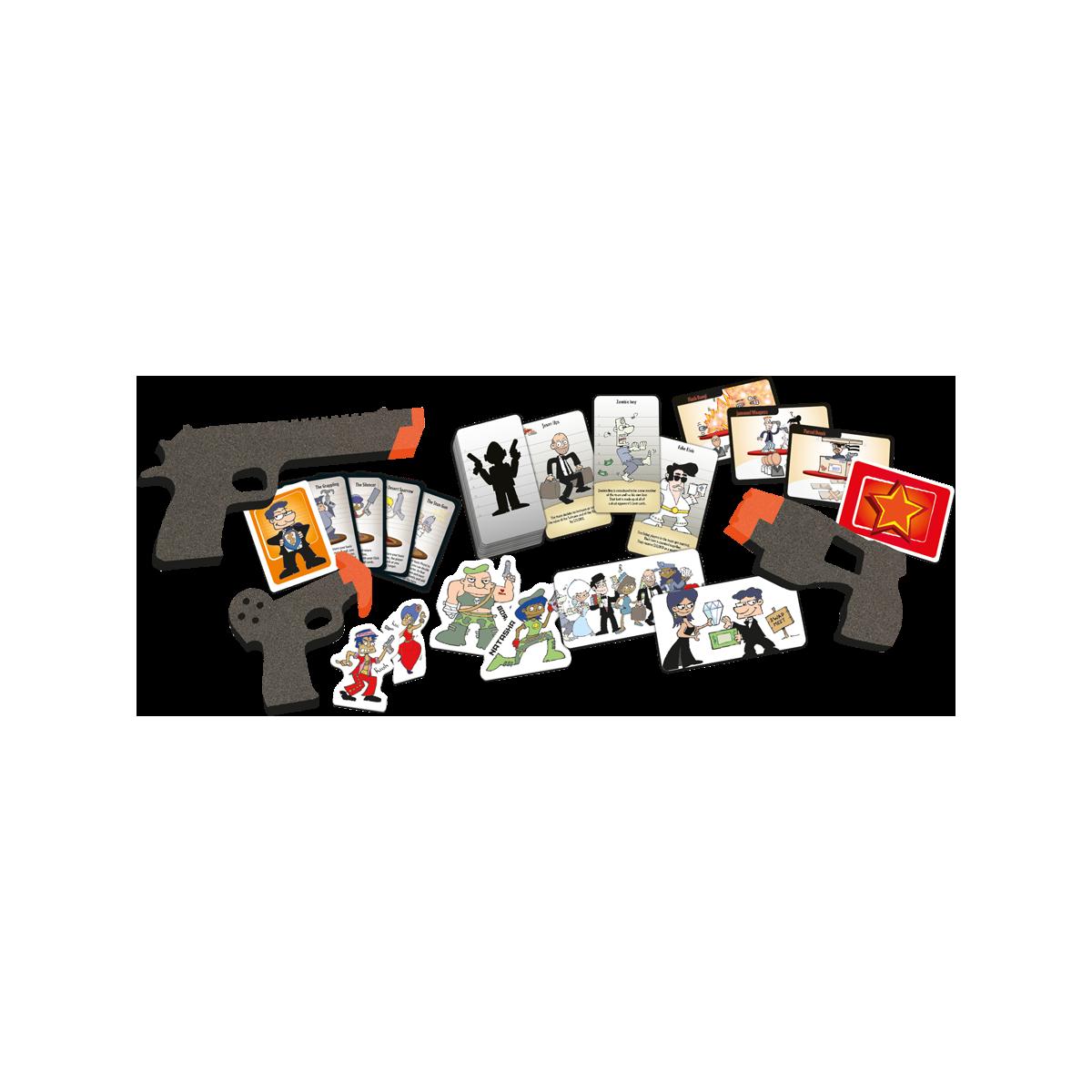 Cash'n'Guns : Team Spirit au Passe Temps - Jeu Bluff