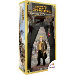 Colt Express : Marshall & Prisonniers