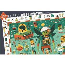 Puzzle : 200 pièces - Crazy lab