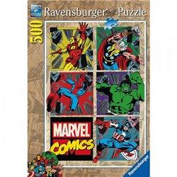 Puzzle : 500 pièces - Les aventures des Avengers