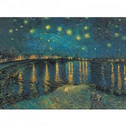 Puzzle : 1000 pièces - La nuit étoilée sur le Rhône de Van Gogh