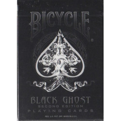 54 Cartes Bicycle Black Ghost